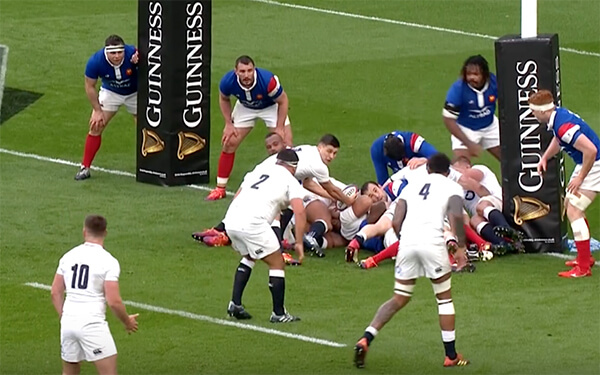 Inghilterra-Francia-Rugby World Cup